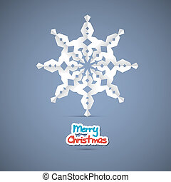 Red Vector Merry Christmas Background