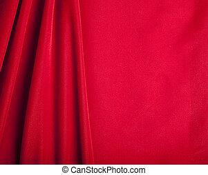 Red Velvet Background - Red Velvet Fabric Background with...
