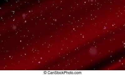 Red Velvet Snowfall Loop