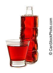 Red vine bottles