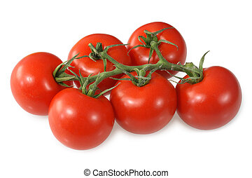 Red vine ripened British tomatoes.