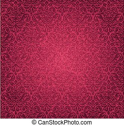 Red  vintage background design