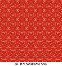 Red Vintage Background Vector