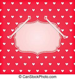 Red Vintage Card