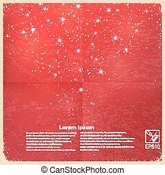 Red vintage grunge background.