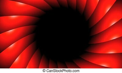 red vortex rotate