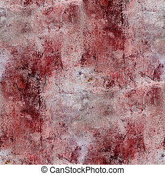 red wall blood stains plaster cracks paint seamless...
