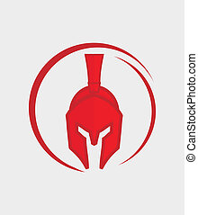 Red Warrior - great warrior icon,can use for anything
