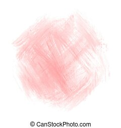 Red watercolor on white background