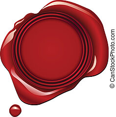 Red Wax Seal