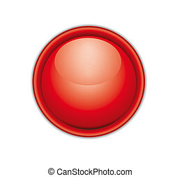 red web button