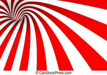Red & White background
