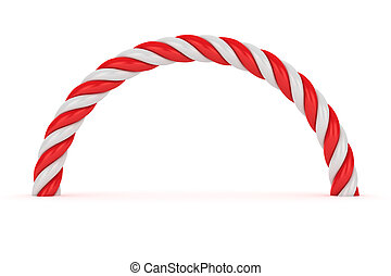 Red-white spiral