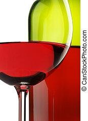 Red wine close-up