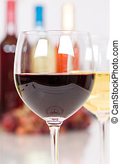 Red wine in a glass portrait format - Red wine in a glass ...