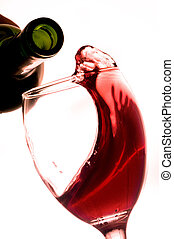 Red Wine - Red wine in a wine glass