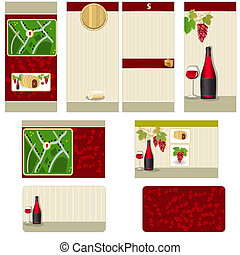 Red wine stationary