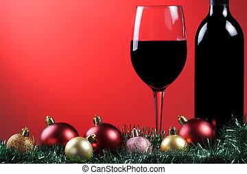 Red wine xmas.