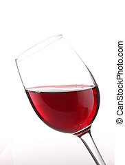 red wineglass