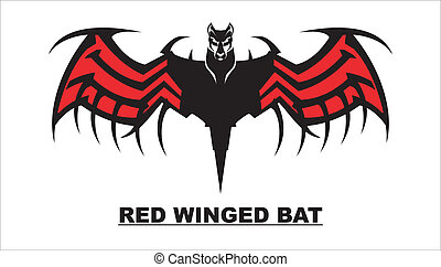 Red Winged Bat