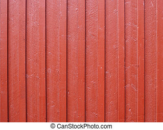 Red wood fence background