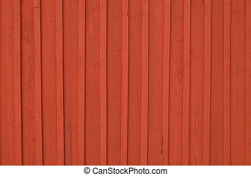 Red wooden fence background