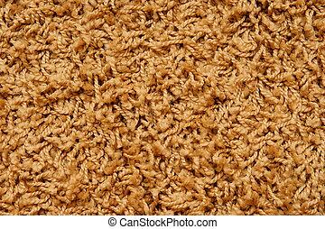 red woolen backgroun - woolen backgroun. carpet with strings...