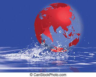 Red world mao