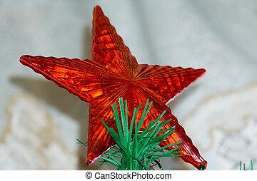 Red Xmas Star