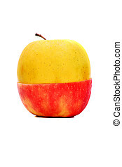 Red Yellow Apple