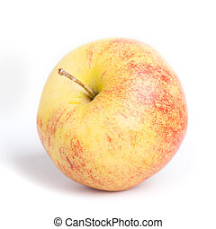 Red yellow apple=