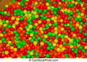 red yellow green candy ball - candy ball confectionary in ...