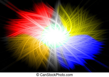red, yellow, orange,blue background - red, yellow, orange,...