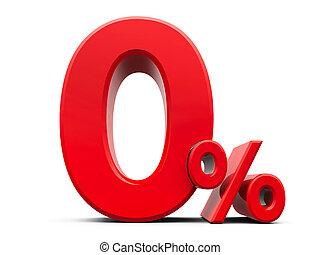 Red Zero Percent #5
