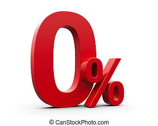 Red Zero Percent