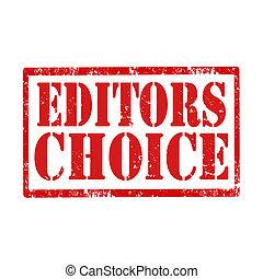 redactie, choice-stamp