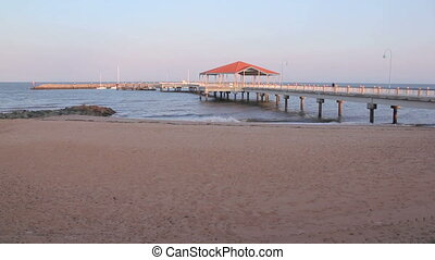 Redcliffe Pier 2 - The iconic Redcliffe Jetty in Redcliffe...