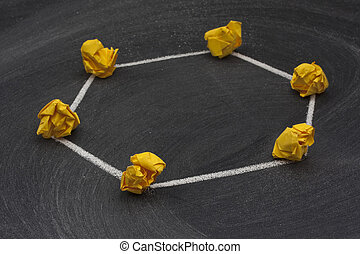 rede, -, 3, modelo, anel, topology