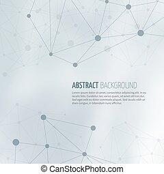 rede, abstratos, sociedade, vetorial, fundo, estrutura