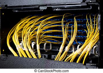 rede, cabos