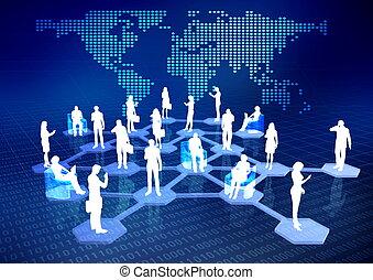 rede, comunidade