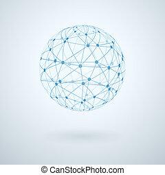 rede global, ícone