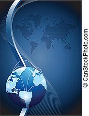 rede global, comunicação