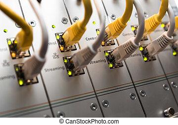rede, interruptor