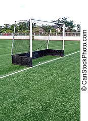 rede, meta futebol, futebol