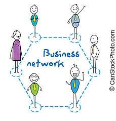 rede, negócio
