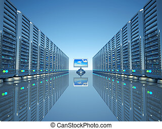 rede, servidor computador