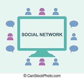 rede, social