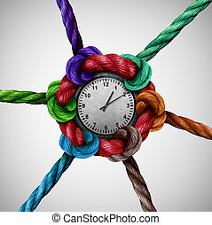 rede, tempo