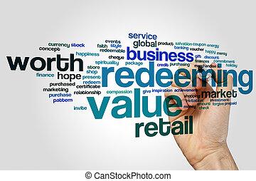 Redeeming value word cloud